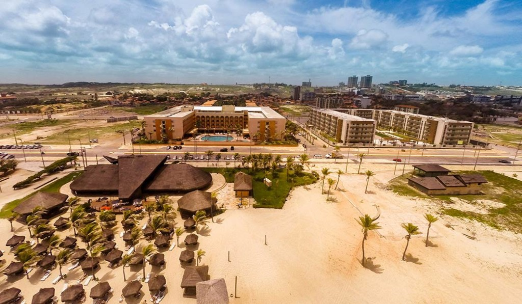 Vista aérea do hotel Vila Galé, Fortaleza, Ceará